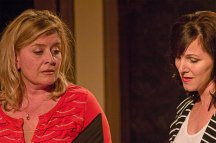 Caroline Altman as Nan and Dyan McBride as her former roommate, Chloe.